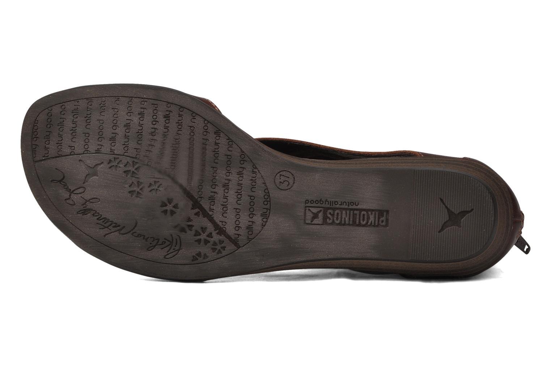 Sandali e scarpe aperte Pikolinos Alcudia 8262 Marrone immagine dall'alto