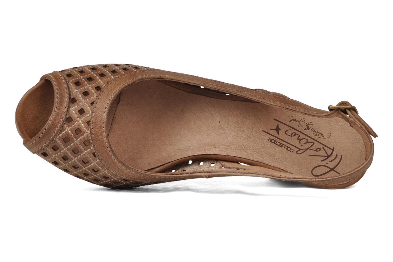 Sandali e scarpe aperte Pikolinos Vic 8385 Beige immagine sinistra