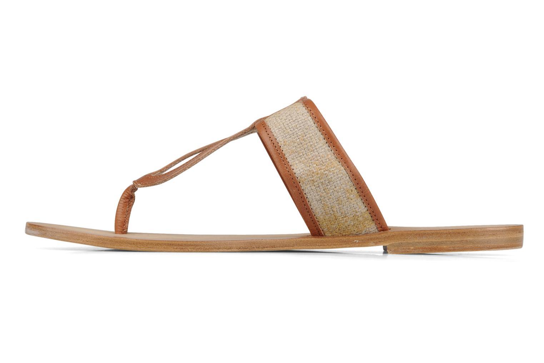 Slippers Tatoosh Piana Bruin voorkant