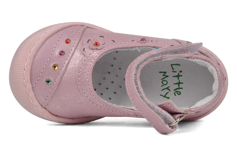 Ballerinas Little Mary Hirondelle rosa ansicht von links