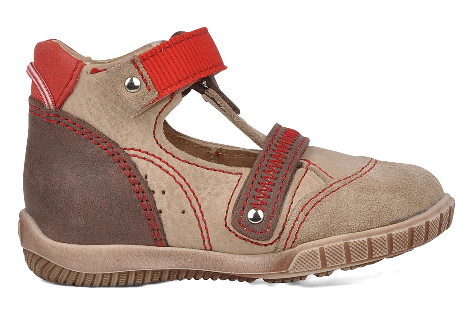 Summer boots Little Mary Hindou Beige back view