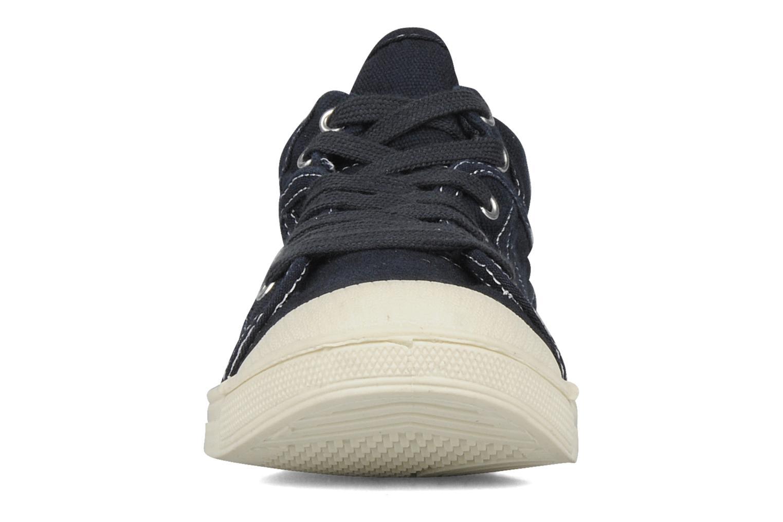 Sneaker Le temps des cerises Basic 03 blau schuhe getragen