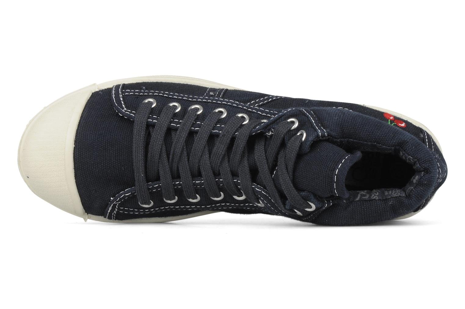 Sneakers Le temps des cerises Basic 03 Blauw links