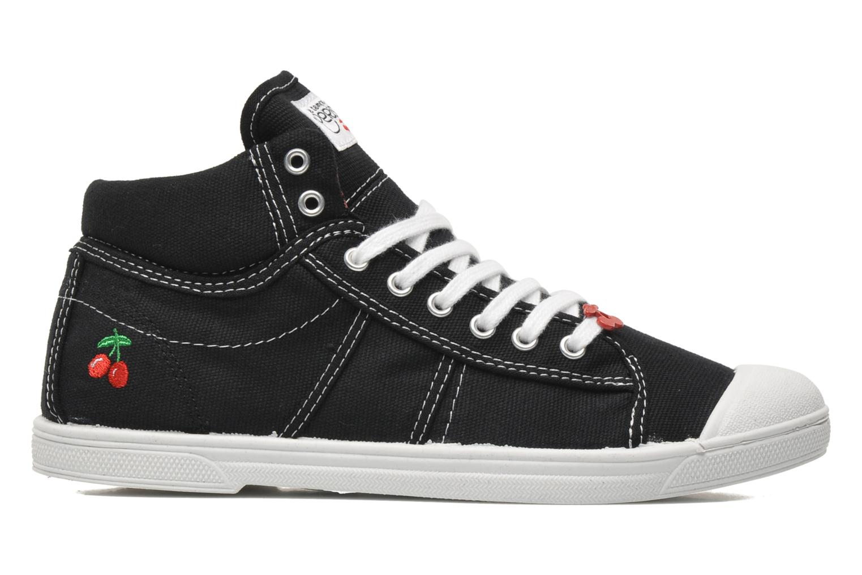 Sneaker Le temps des cerises Basic 03 schwarz ansicht von hinten