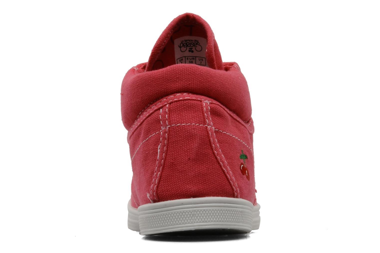 Sneaker Le temps des cerises Basic 03 rosa ansicht von rechts