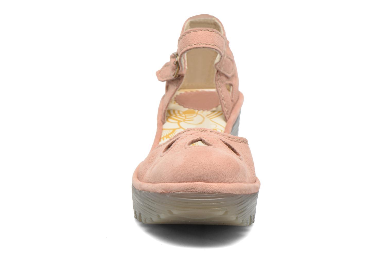Sandalen Fly London Yuna rosa schuhe getragen