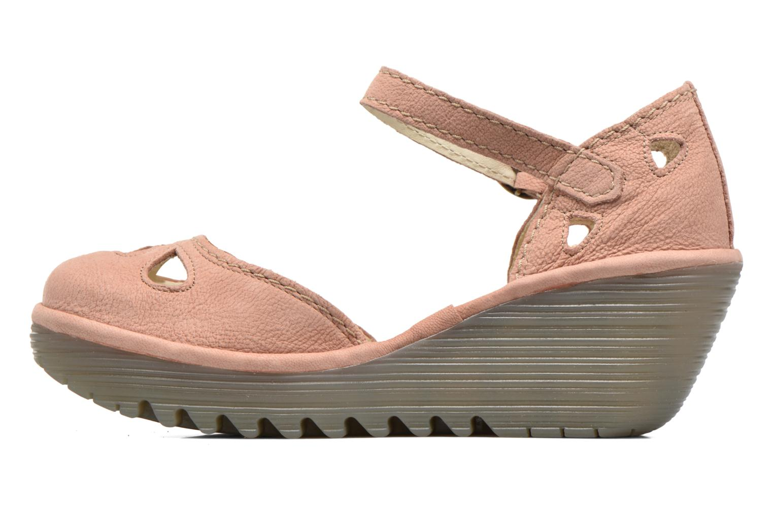 Sandals Fly London Yuna Pink front view