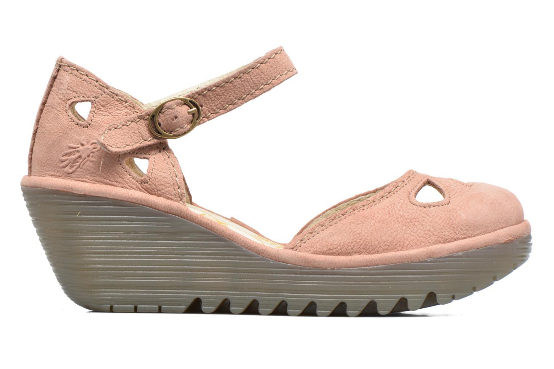 Sandalen Fly London Yuna Roze achterkant
