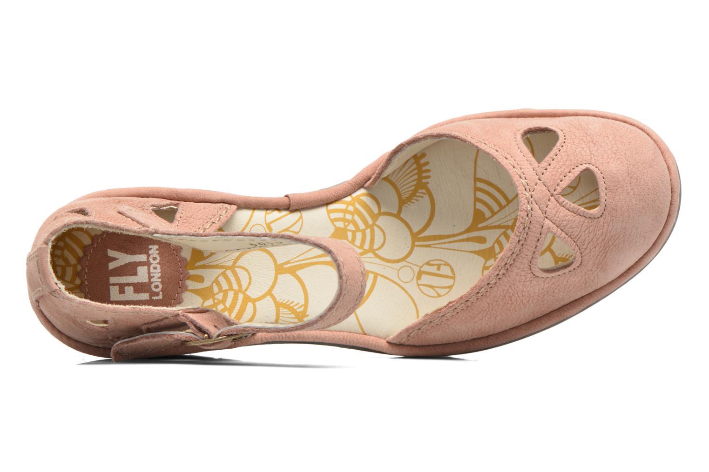 Sandalen Fly London Yuna rosa ansicht von links