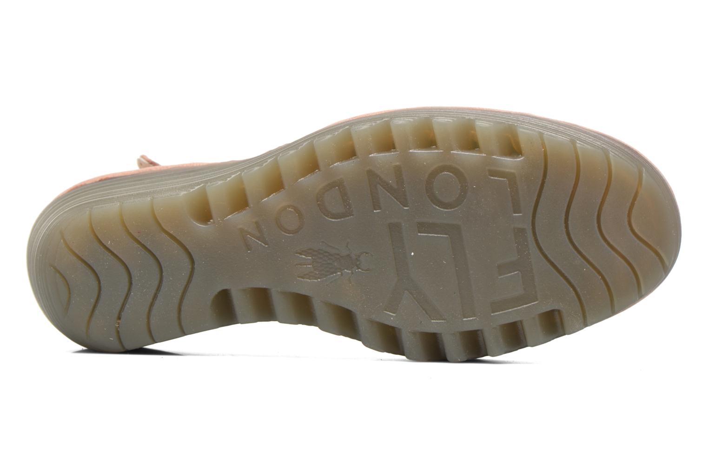 Sandalen Fly London Yuna Roze boven