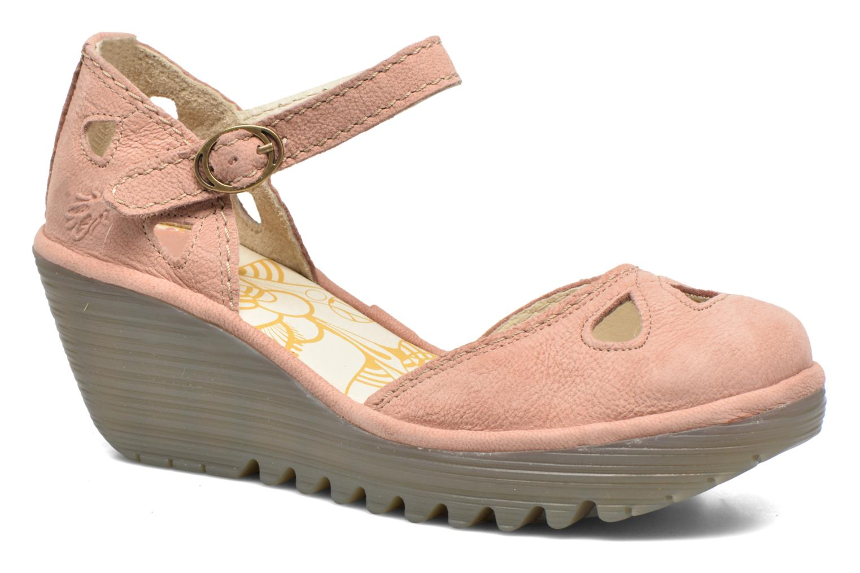 Sandaler Fly London Yuna Pink detaljeret billede af skoene
