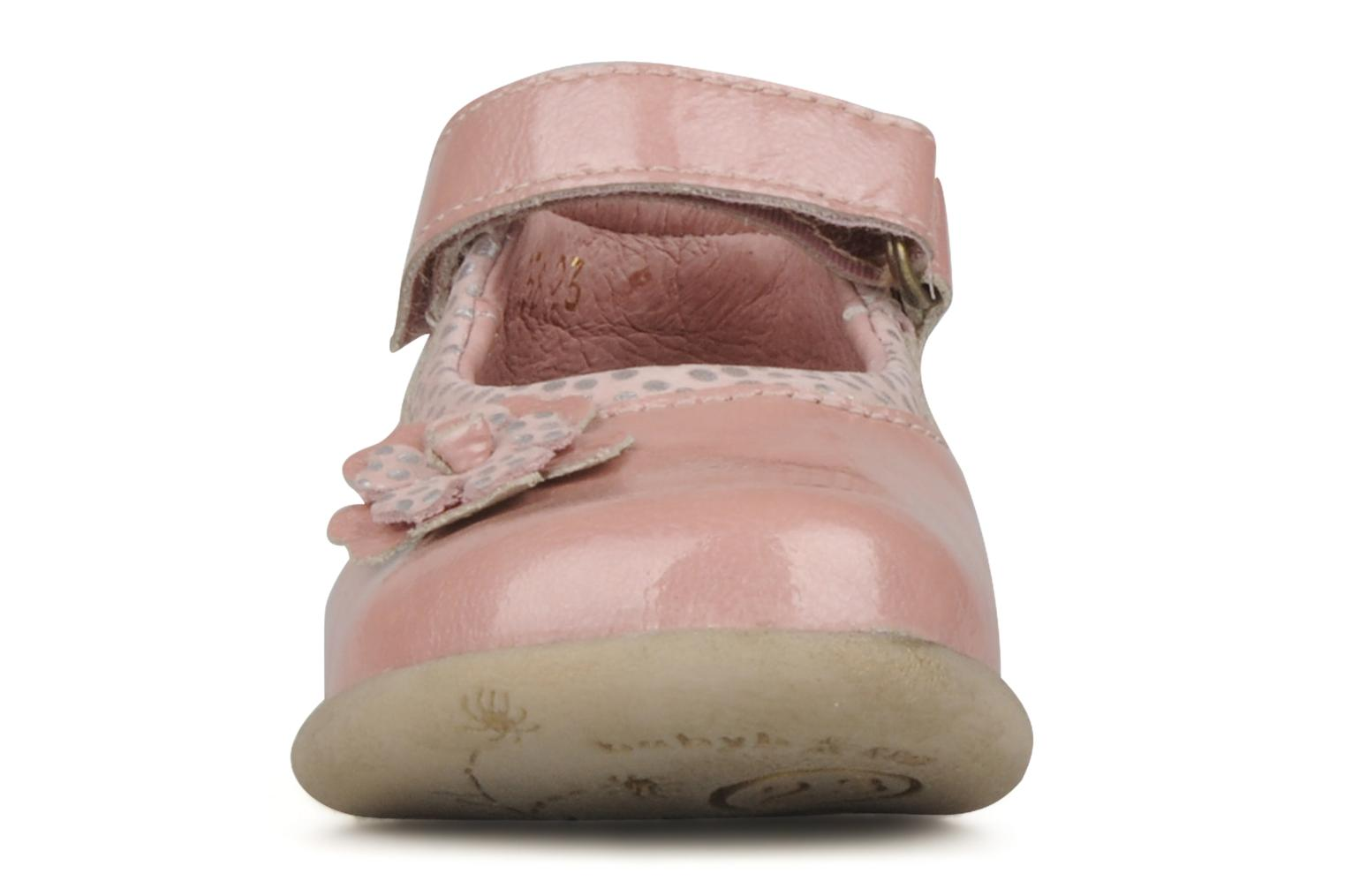 Ankle boots Babybotte Sissi Pink model view