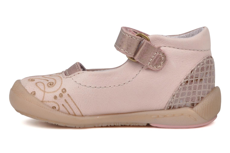 Ballerina's Babybotte Saga Roze voorkant
