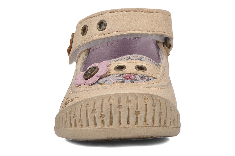 Bottines et boots Babybotte Souricete Beige vue portées chaussures
