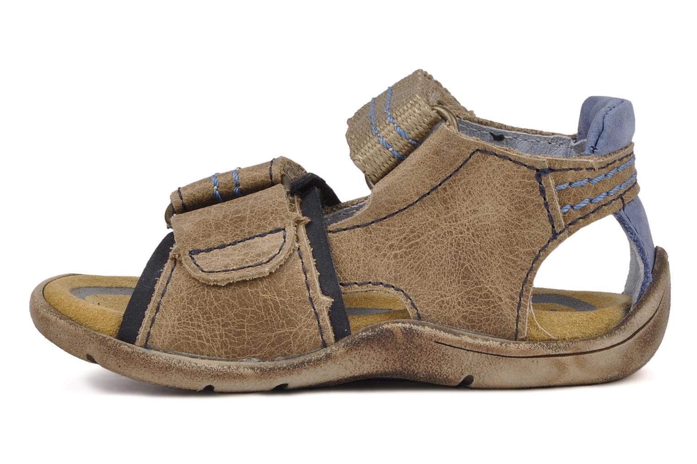 Sandales et nu-pieds Babybotte Tchin Marron vue face