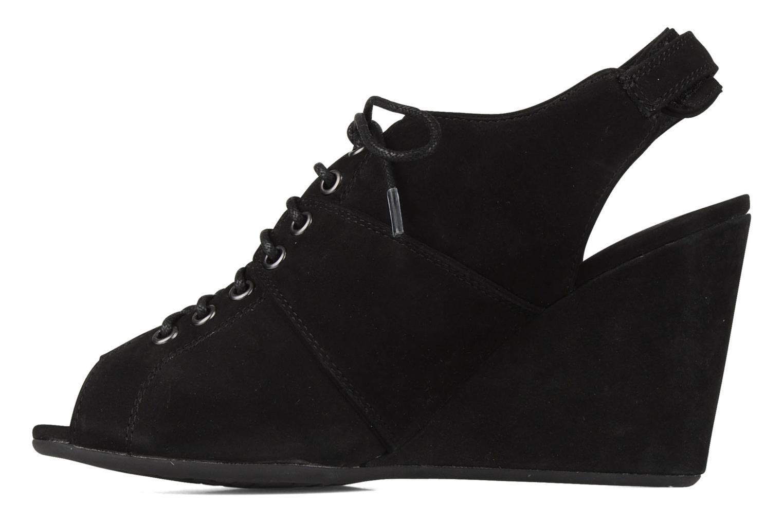 Sandalen No Name Diva open toe Zwart voorkant