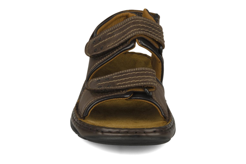 Sandalen Josef Seibel Firenze 01 braun schuhe getragen