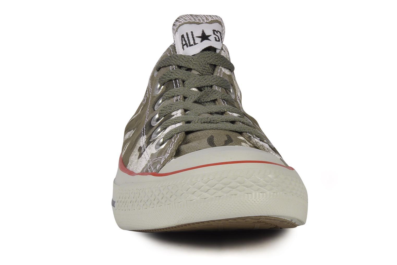 Baskets Converse Chuck taylor all star vagabond camo print ox m Vert vue portées chaussures