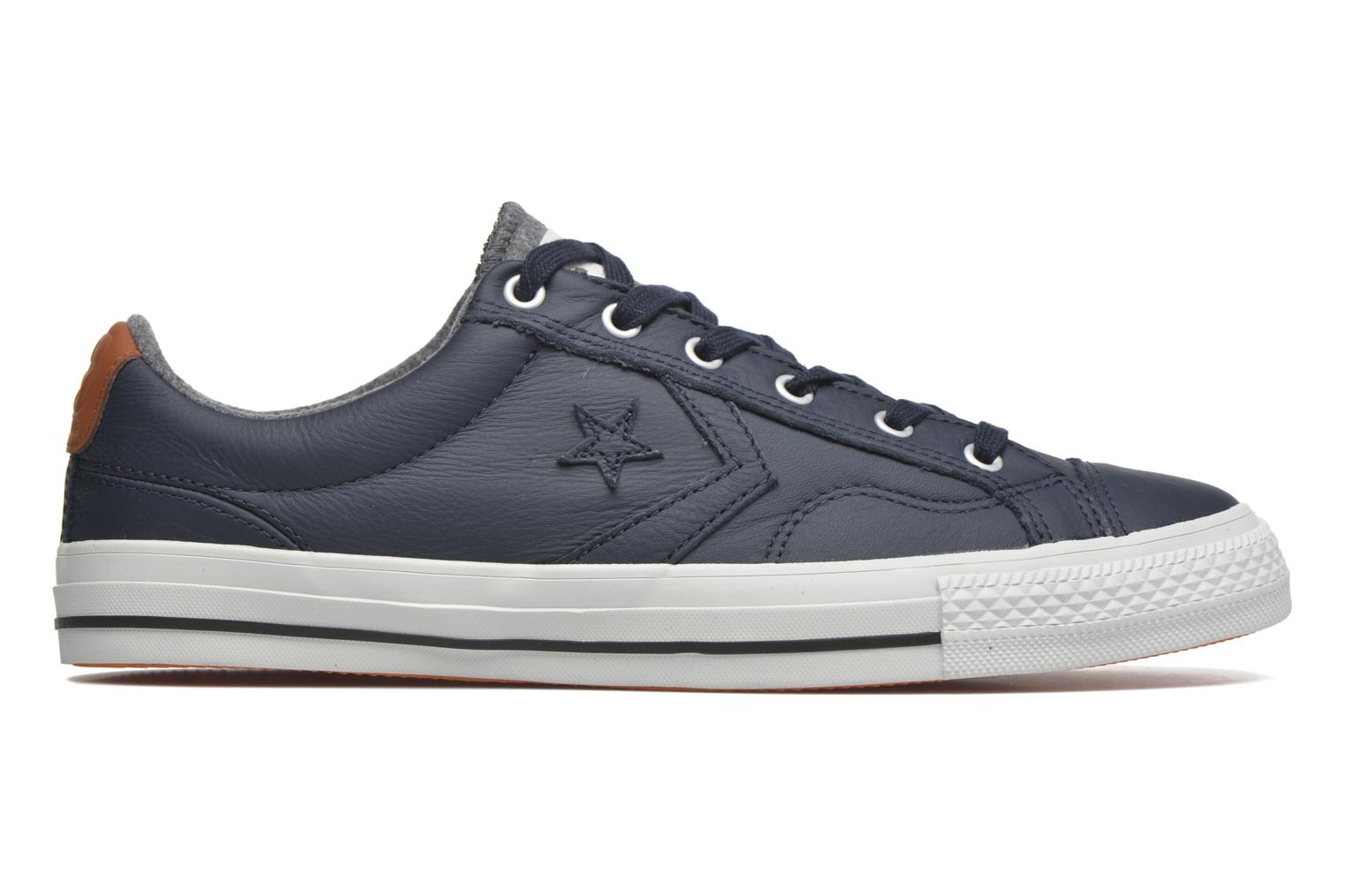 Sneakers Converse Star Player Leather Ox M Grijs achterkant
