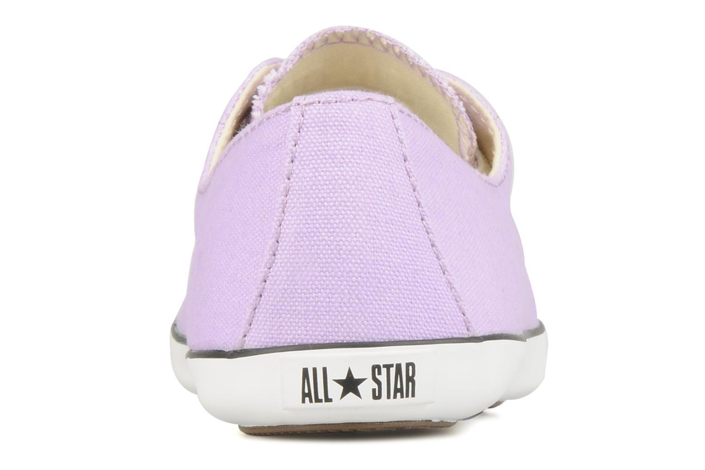 Baskets Converse All Star Light Canvas Ox W Violet vue droite