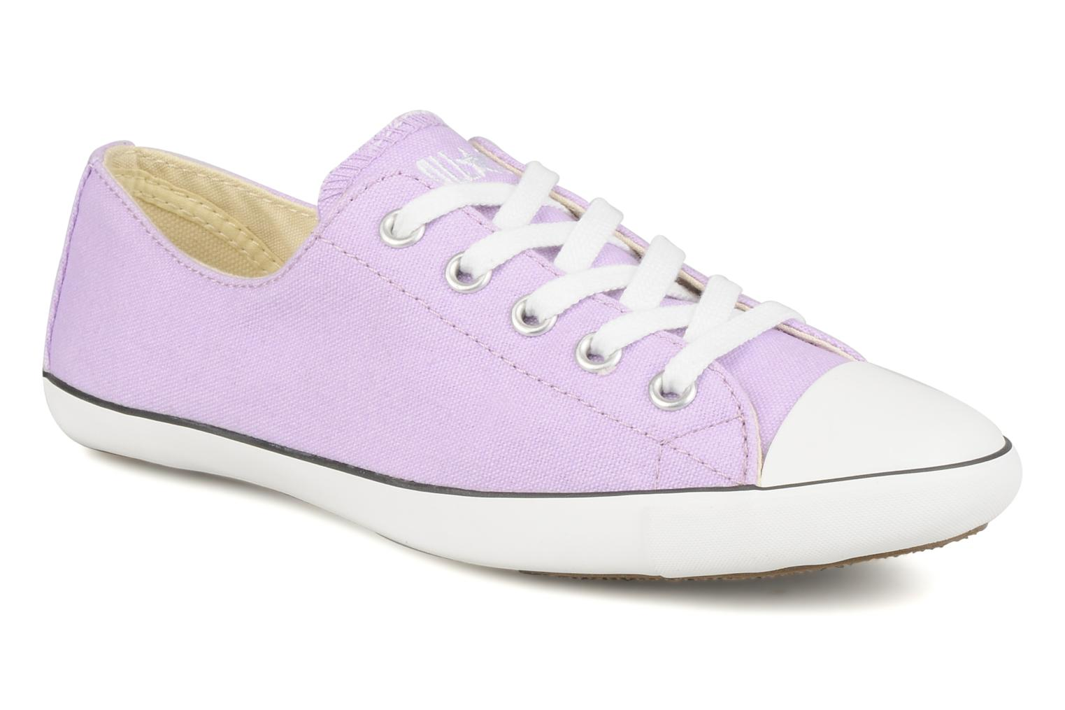 Baskets Converse All Star Light Canvas Ox W Violet vue détail/paire