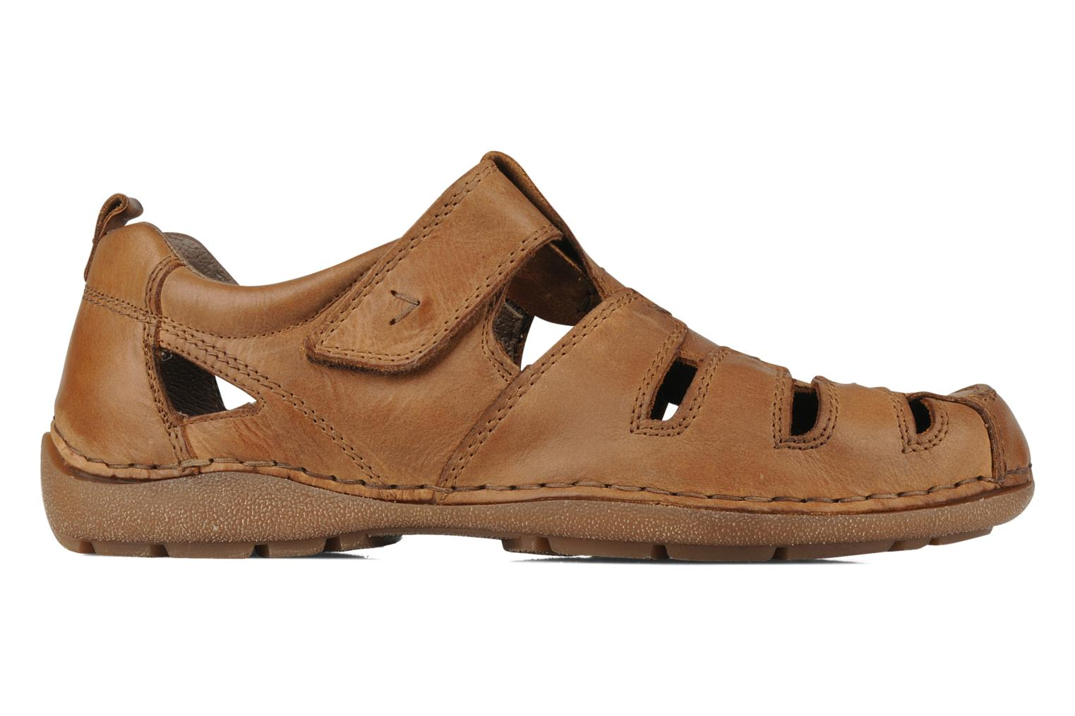 Sandals Rieker Ansgar 05576 Brown back view