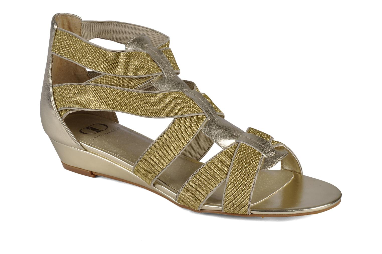 Sandales et nu-pieds Kelsi Dagger Dylana Or et bronze vue détail/paire