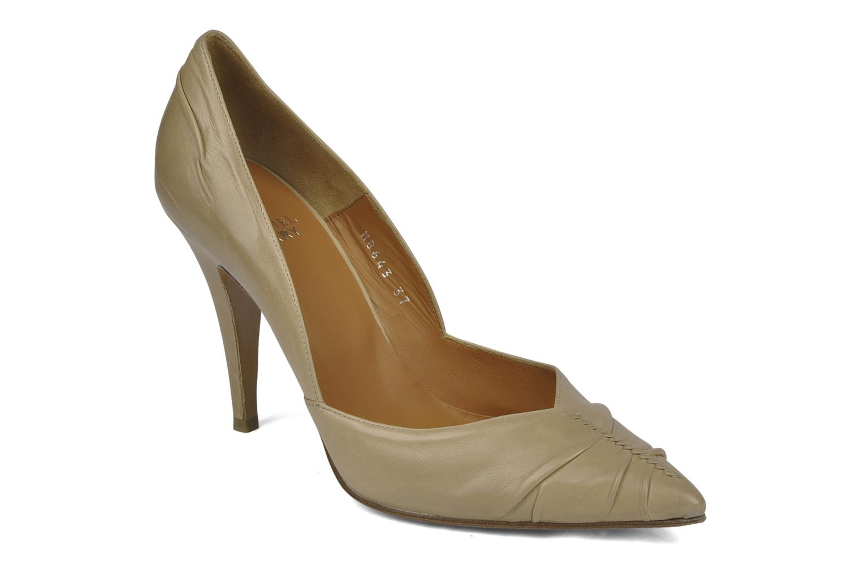High heels Michel Perry Nemesis Beige detailed view/ Pair view
