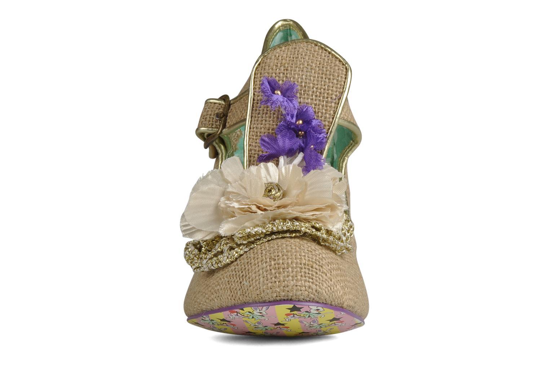 Escarpins Irregular Choice Cant touch this Beige vue portées chaussures