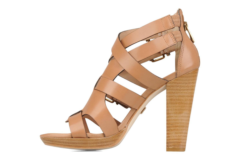 Sandals Pour La Victoire Vanna Brown front view