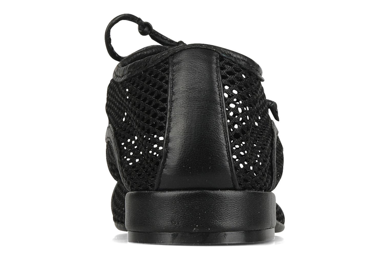 Zapatos con cordones Pour La Victoire Morina Negro vista lateral derecha