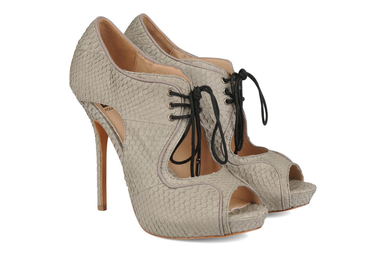 Sandals Pour La Victoire Rima Grey 3/4 view