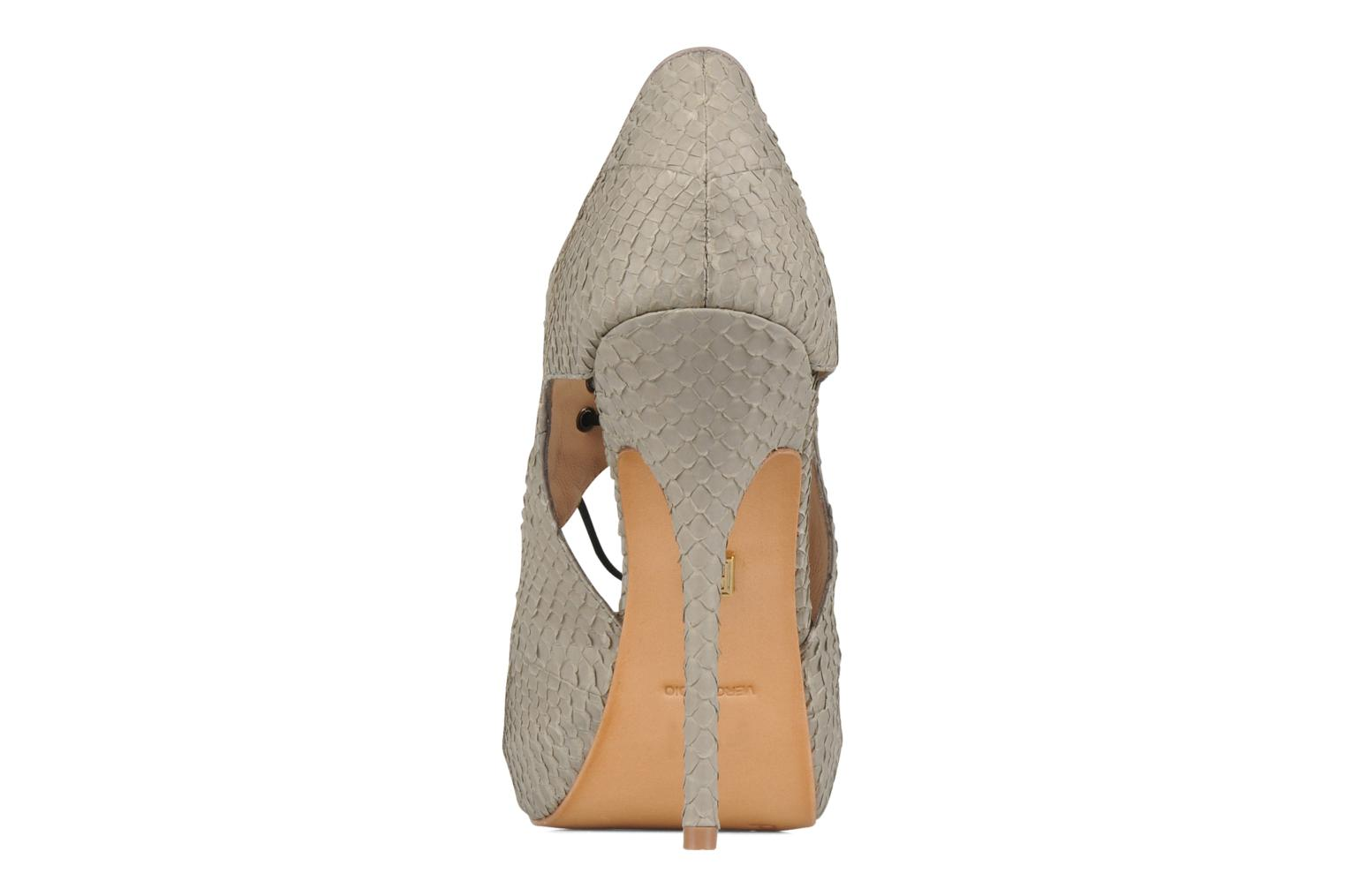 Sandals Pour La Victoire Rima Grey view from the right