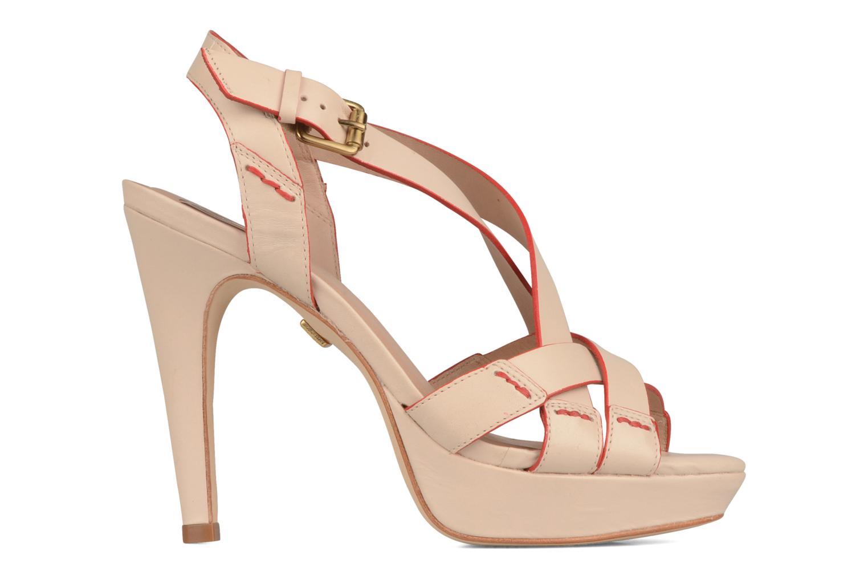 Sandales et nu-pieds Pour La Victoire Abigail Beige vue derrière