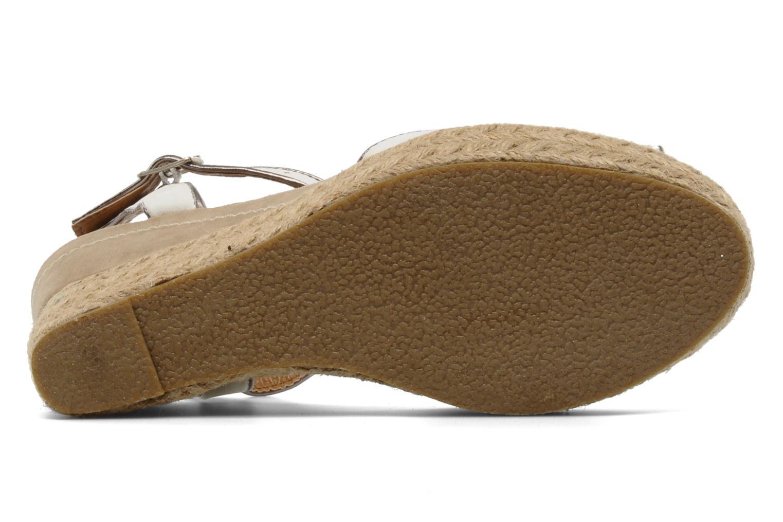 Scarpe di corda Latinas Dolores Bianco immagine dall'alto