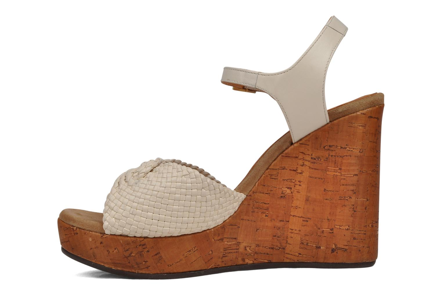 Sandals Chie Mihara Doremi White front view