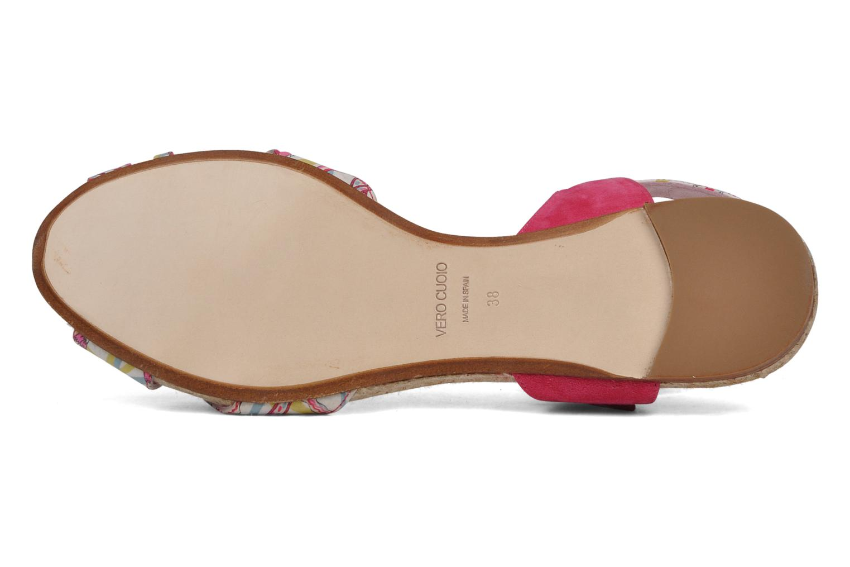 Sandales et nu-pieds Annabel Winship Hopper Rouge vue haut