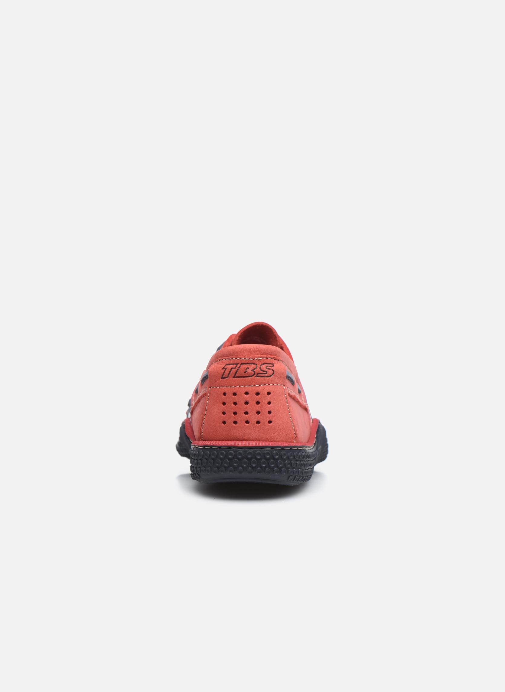 Chaussures à lacets TBS Globek Rouge vue droite