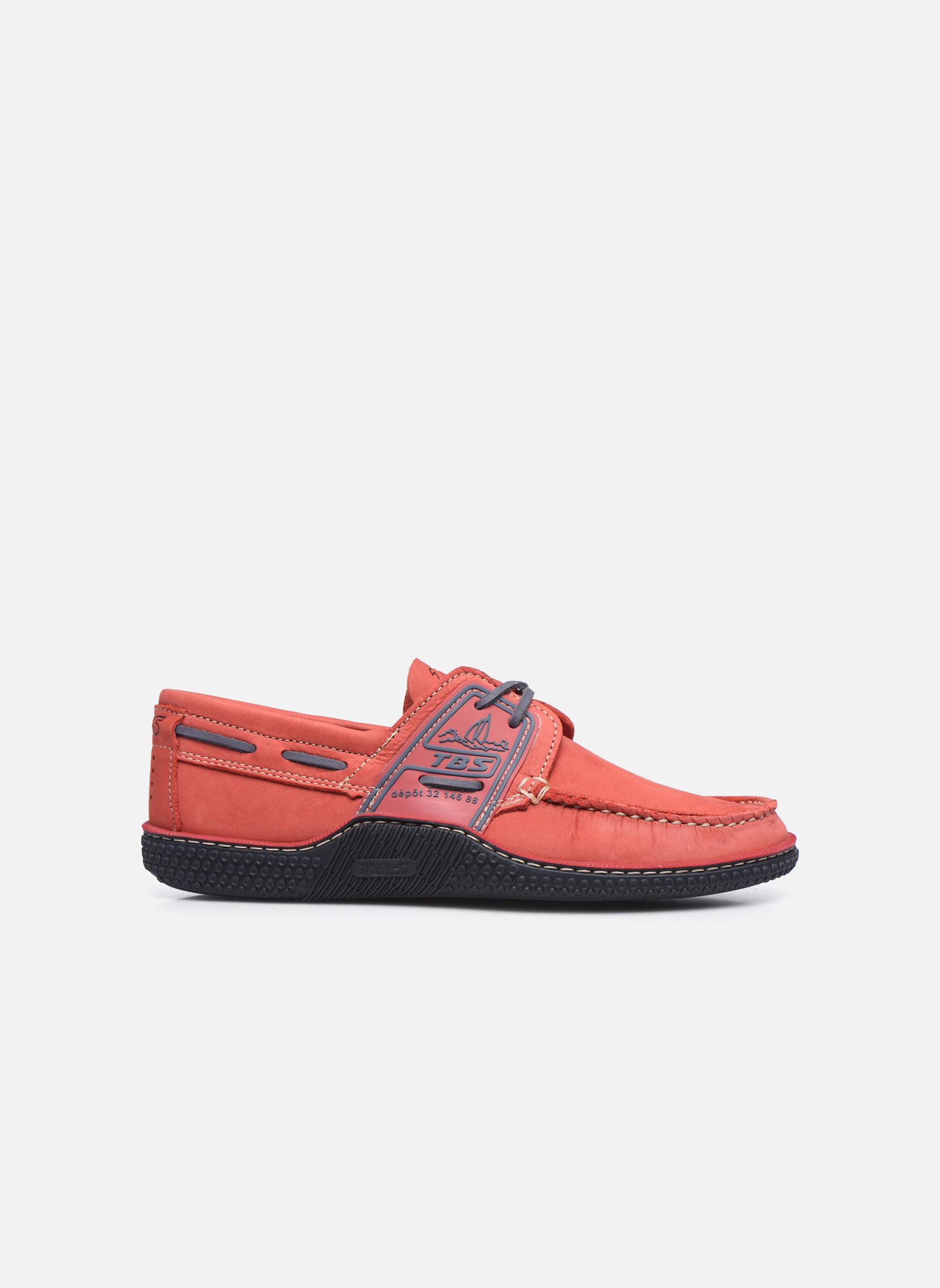 Zapatos con cordones TBS Globek Rojo vistra trasera