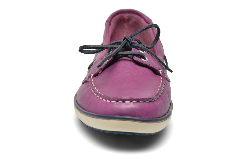 Schnürschuhe TBS Clamer lila schuhe getragen