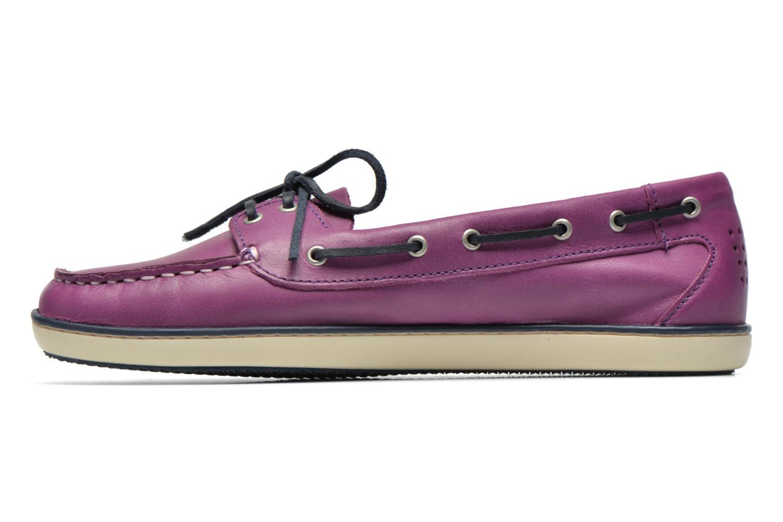Chaussures à lacets TBS Clamer Violet vue face