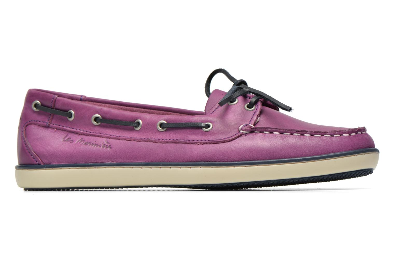 Lace-up shoes TBS Clamer Purple back view