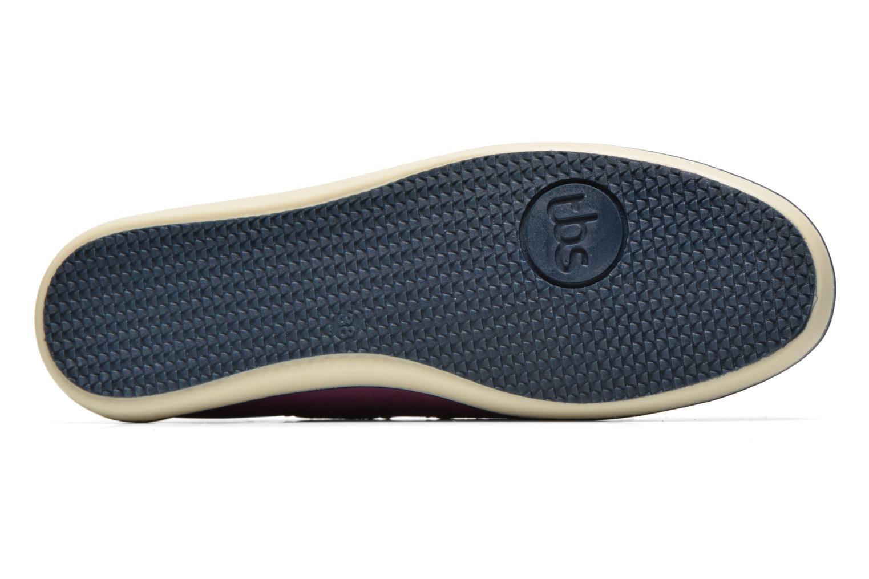 Chaussures à lacets TBS Clamer Violet vue haut