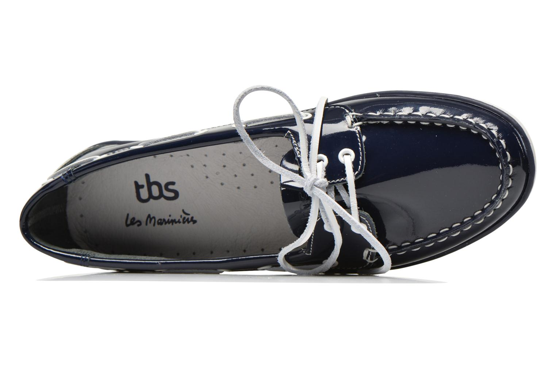Chaussures à lacets TBS Clamer Bleu vue gauche