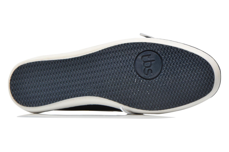 Chaussures à lacets TBS Clamer Bleu vue haut