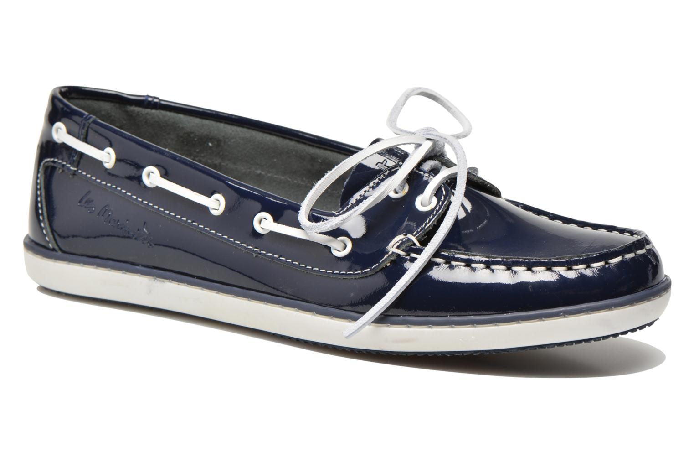 Chaussures à lacets TBS Clamer Bleu vue détail/paire