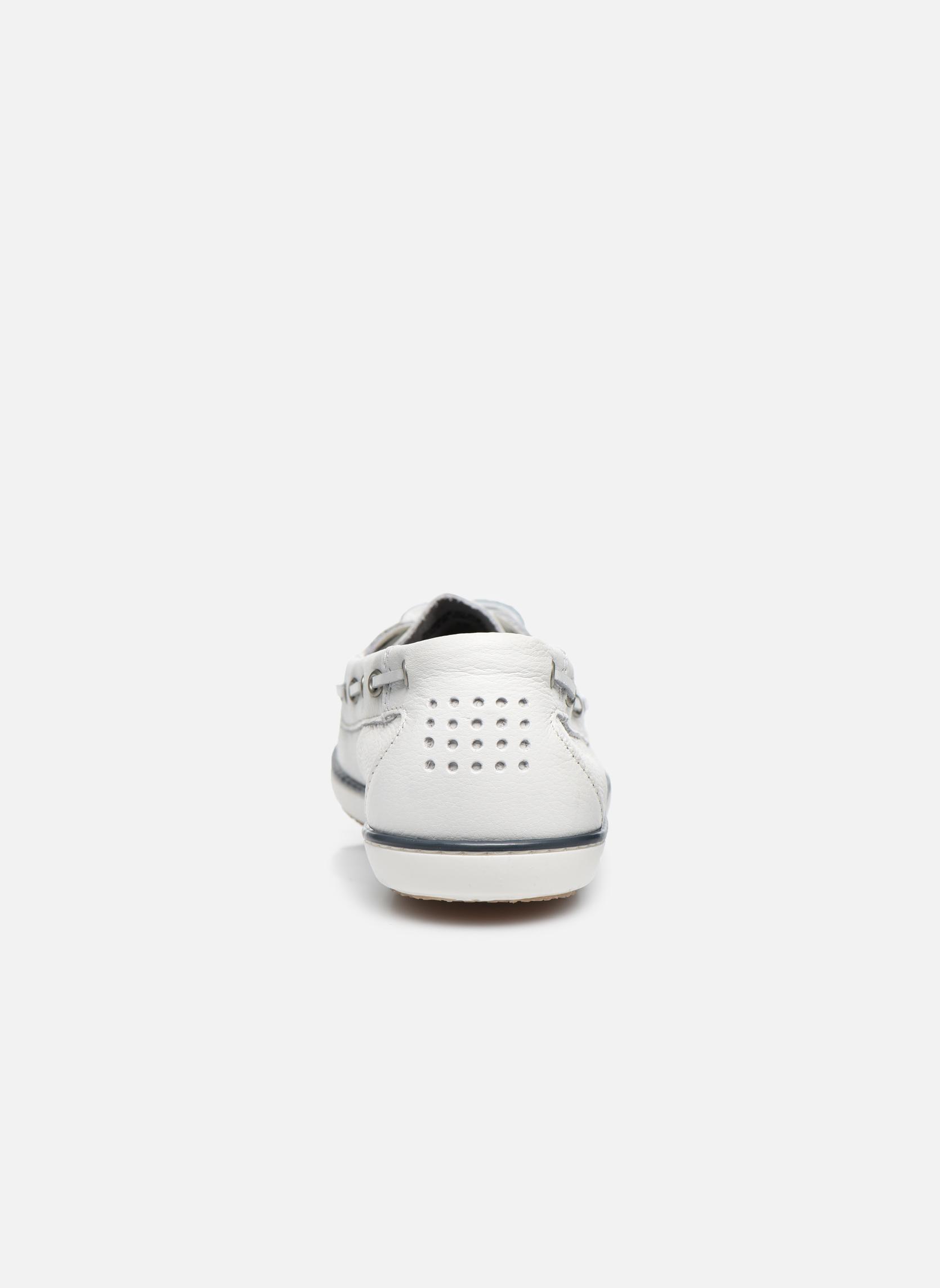 Chaussures à lacets TBS Clamer Blanc vue droite