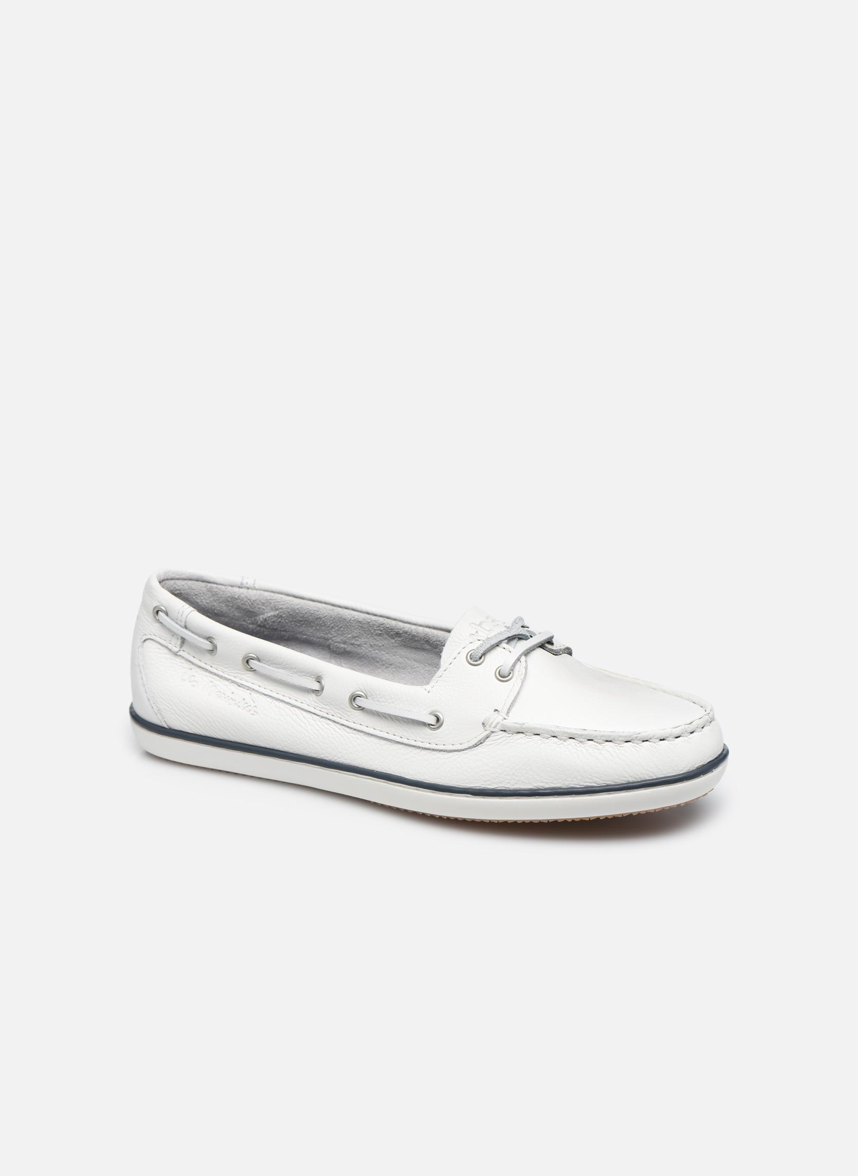 Chaussures à lacets TBS Clamer Blanc vue détail/paire