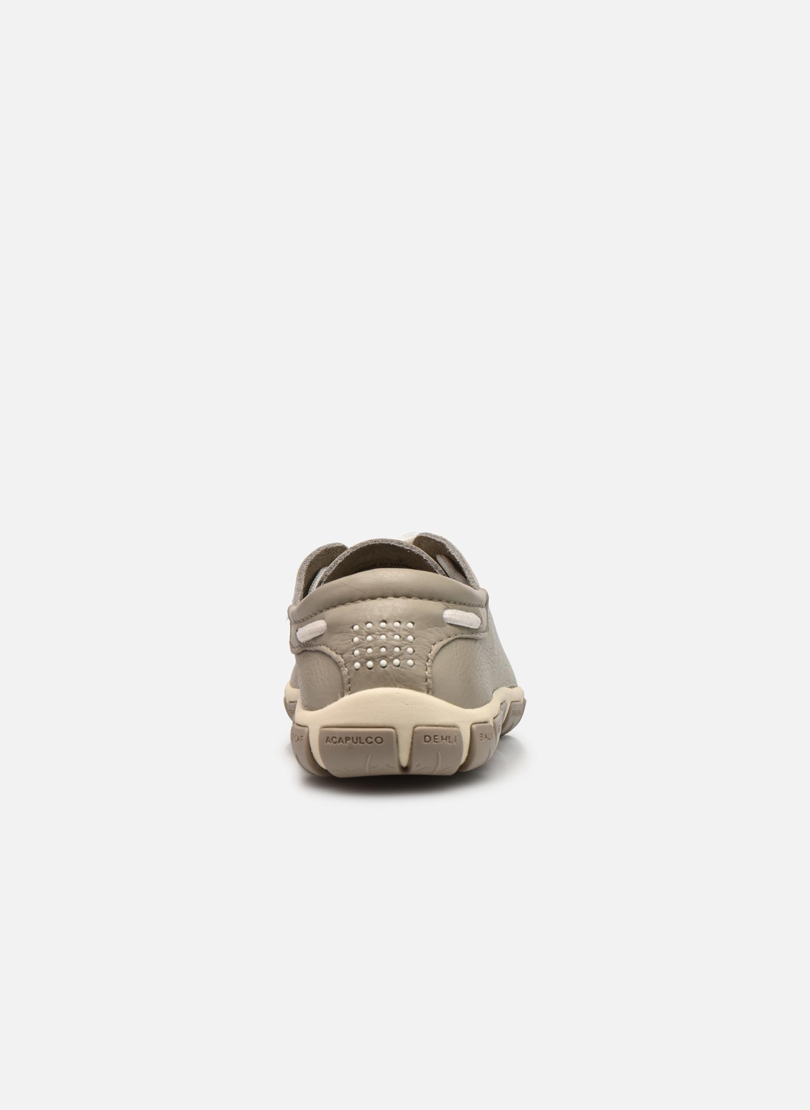 Zapatos con cordones TBS Jazaru Beige vista lateral derecha