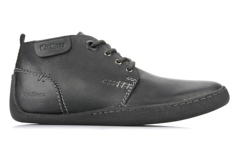 Chaussures à lacets Kickers Indiana Noir vue derrière